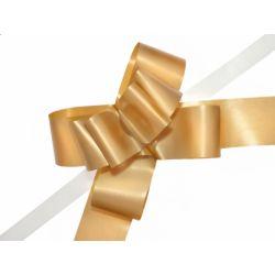 """Wstążki ściągane malowane, złoty, 5cm, 1op."""""""