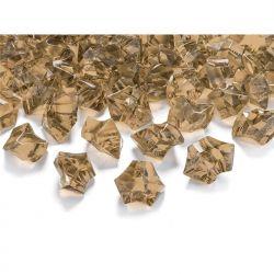 """Kryształowy lód, złoty, 25 x 21mm, 1op."""""""