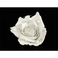 Róże na przyssawkach, biały, 10cm ,1op. Ślub.