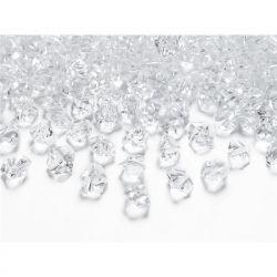 """Kryształowy lód, bezbarwny, 14 x 11mm, 40op."""""""
