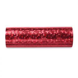 Serpentyny holograficzne, czerwony, 3,8m, 1op.