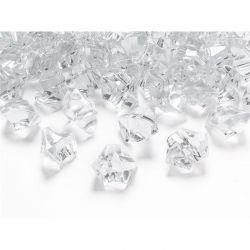 """Kryształowy lód, bezbarwny, 25 x 21mm, 1op."""""""
