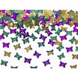 Konfetti metalizowane Motylki, mix, 15g, 1op.