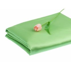 Materiał satynowy, j. zielony, 1,5 x 10m, 1szt.