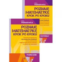 Poznaję matematykę krok po kroku Podręcznik i mate
