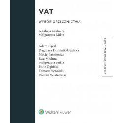 VAT. Wybór orzecznictwa 2015