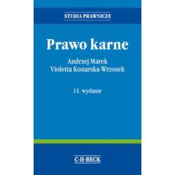 Prawo karne WYD.11 2016r. Andrzej Marek