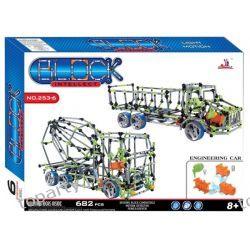 Intellect Block - klocki XXL (682 elementy) (model 253-6)