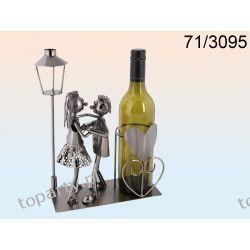 Stojak na wino zakochana para. Nie tylko dla zakochanych.