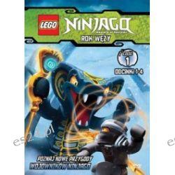 Lego Ninjago. Rok węży. Część 1. Odcinki 1-4 (DVD)