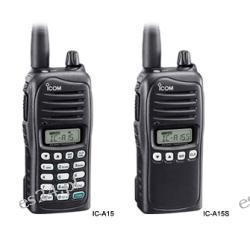 Radiotelefon lotniczy IC-A15S Ra
