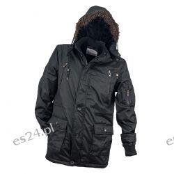 Kurtka ocieplana męska URG-1720 BLACK rozmiar L Bluzy i koszule
