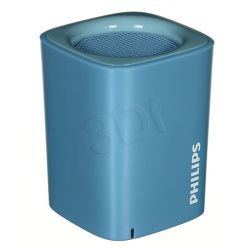 Głośnik bezprzewodowy Philips BT100A / 00 niebieski...
