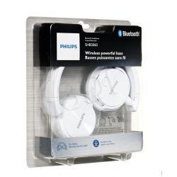 Słuchawki nauszne z mikrofonem Philips SHB3060WT / 00 (Biały Bluetooth)...