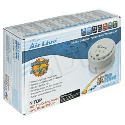 Access Point AIRLIVE N.TOP PoE 802.3af  802.11b / g / n - 300Mbps  27dBm  High Power (sufitowy)...