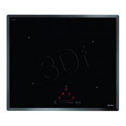 Płyta Indukcyjna Amica PI 6512TFN (4-polowa Czarny)...