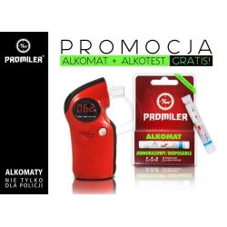 PROMILER ALKOMAT AL6000 PRO (CZERWONY)...