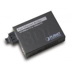PLANET ( FT-802 ) Konwerter 10 / 100Base T  100Base FX  /  SC  /  Multi-Mode  /  Max. 2 km  /...