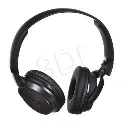 Słuchawki nauszne z mikrofonem Philips SHB3185BK / 00 (Czarno-szare Bluetooth NFC)...