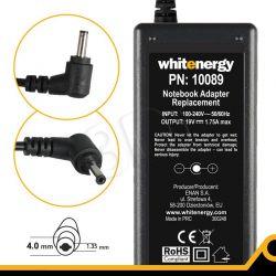 WHITENERGY ZASILACZ AC DO LAPTOPA ASUS VIVOBOOK X201E X202E F201E Q200E S200E 230V 19V 1.75A 4.0X1.35 MM...