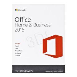 Microsoft Office 2016 Home and Business Angielska wersja cyfrowa...