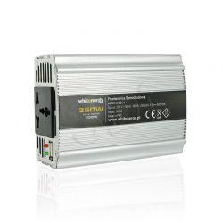PRZETWORNICA SAMOCHODOWA DC 24V-AC 230V 350W Z USB...