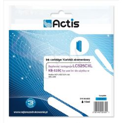 Actis KB-525C tusz cyan do drukarki Brother (zamiennik Brother LC525C) Standard...