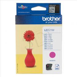 BROTHER Tusz Czerwony LC121M=LC-121M, 300 str....