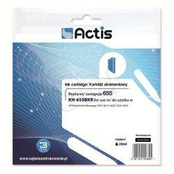 Actis KH-655BKR tusz czarny do drukarki HP (zamiennik HP 655 CZ109AE) Standard...