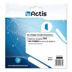 Actis KH-704BKR tusz czarny do drukarki HP (zamiennik HP 704 CN692AE) Standard...
