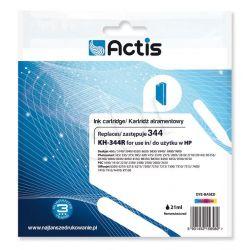 Actis KH-344R tusz trójkolorowy do drukarki HP (zamiennik HP 344 C9363EE) Standard...