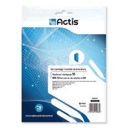 Actis KH-15 tusz czarny do drukarki HP (zamiennik HP 15 C6615N) Standard...