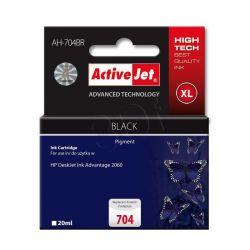 ActiveJet AH-704BR tusz czarny do drukarki HP (zamiennik HP 704 CN692AE) Premium...