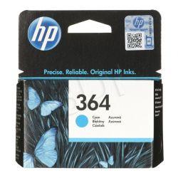 HP Tusz Niebieski HP364=CB318EE, 300 str., 3 ml...