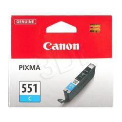 CANON Tusz Niebieski CLI-551C=CLI551C=6509B001, 300 str., 7 ml...