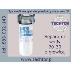 Separator wody  do paliwa oleju 70 l/min - PIUSI z głowicą