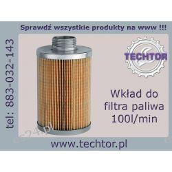 Wymienny wkład filtra paliwa 100l/min do oleju - P