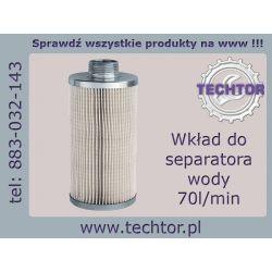 Wkład separatora wody 70 l/min do oleju - PIUSI