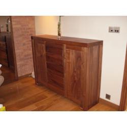komoda orzech amerykański100%drewno promocja EGZO
