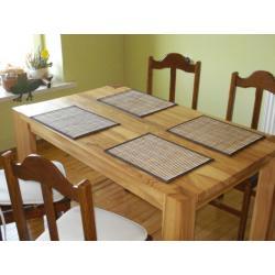 stół jesionowy, stół lite drewno jesion
