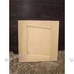 drzwiczki meblowe z drewna dąb buk itp.