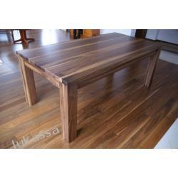 stół orzech amerykański 100% drewno.
