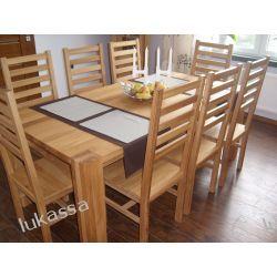 stół dębowy 100% lite drewno dębowe w I klasie gatunku