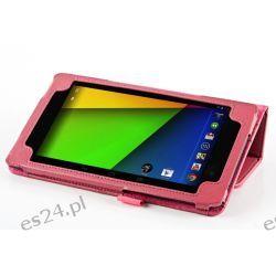 Pokrowiec Book Case dla Asus Google Nexus 7 różowy