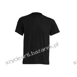 Koszulka T-shirt męski 170 Black  Odzież i bielizna męska