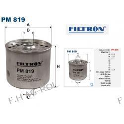"FILTR PALIWA PM 819.CLAAS/WSW ""ANDORIA""/FORTSCHRITT/JOHN DEERE/MASSEY-FERGUSON/FIAT/FORD/RENAULT/JC. BAMFORD/AUTOSAN/IVECO/ALFA ROMEO"