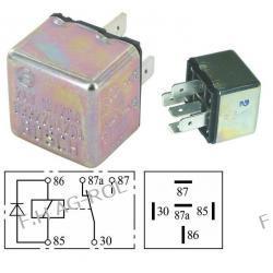Przekaźnik świateł uniwersalny 24V. 10/20A /5-STYKÓW.PRODUCENT: BOSCH NR:0332204204 Myjki ciśnieniowe