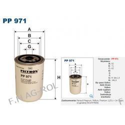 FILTR PALIWA FILTRON PP 971.Zastosowania:  Renault Magnum, Midlum, Premium 11/01-> (nr części oryginalnej 5010477855)