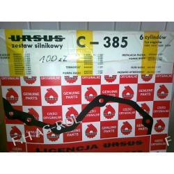 Zestaw uszczelek silnika URSUS C-385, 6 CYLINDRÓW TYP CIĄGNIKA-1604 1414 1634 1434 Części do maszyn rolniczych