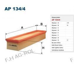 Filtr powietrza AP 134/4 Zastosowania:   Renault Clio II 1.5dCi, Megane 1.5dCi 9/00->    ,NISSAN KUBISTAR 1.5 dCi K9K 2003/9 ->,